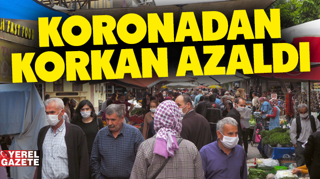 MART'TA AZALMIŞTI AMA NİSAN'DA SOKAĞA ÇIKAN KİŞİ SAYISI ARTTI..