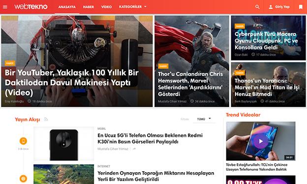 Özgün ve Samimi Haberleriyle Okurların Gönlünde Taht Kuran Haber Sitesi: Webtekno..