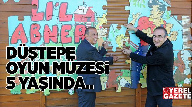 ATAŞEHİR DÜŞTEPE OYUN MÜZESİ 5 YAŞINDA..