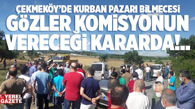 VATANDAŞ, KURBAN PAZARININ YERLEŞİM YERİNE UZAK OLMASINI İSTİYOR..