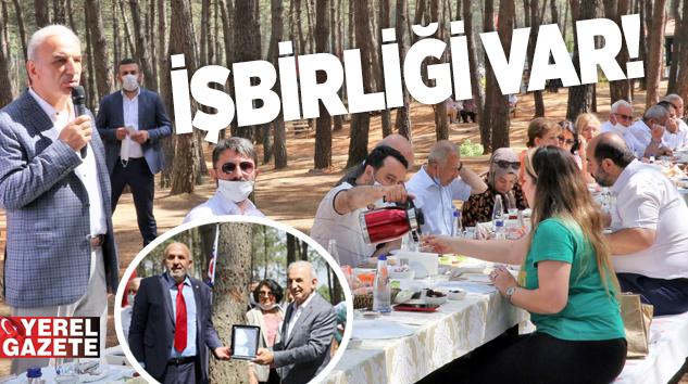 İSTANBUL'UN MAHALLE MUHTARLARI ÜMRANİYE'DE BULUŞTU..