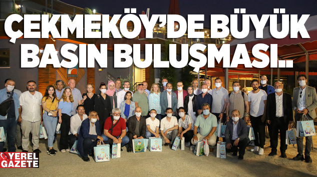 ANADOLU'DAN ONLARCA BASIN TEMSİLCİSİ AYGAD'LA ÇEKMEKÖY'DE..