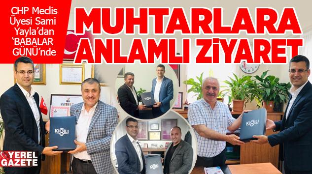 ÇEKMEKÖY'ÜN 'BABA' MUHTARLARINI UNUTMADI..