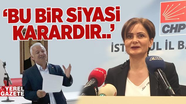 İLÇE ÖRGÜTLERİNDEN KAFTANCIOĞLU'NA DESTEK AÇIKLAMASI..