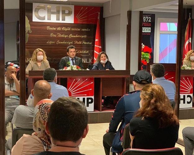 """SANCAKTEPE CHP; """"SONUNA KADAR KAFTANCIOĞLU'NA SAHİP ÇIKACAĞIZ.."""""""