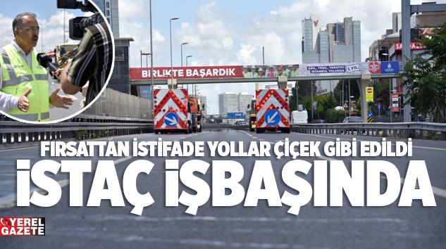 D-100 KARAYOLUNDA KAPSAMLI TEMİZLİK ÇALIŞMASI YAPILDI..