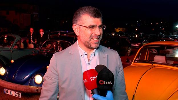 SULTANBEYLİ'DE ARABALI SİNEMA GECESİ..