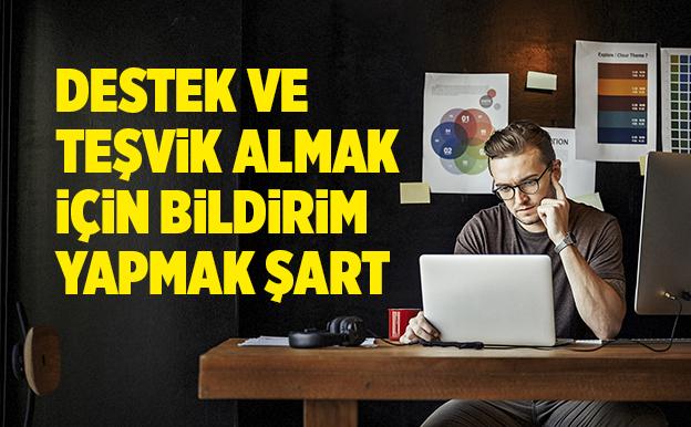 UZAKTAN ÇALIŞMA DESTEĞİ  1 AY DAHA UZADI..