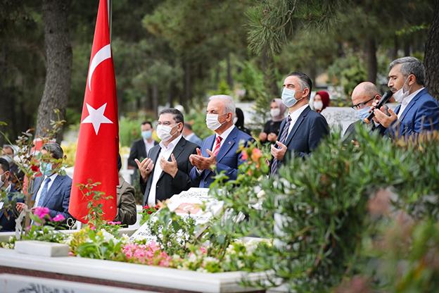 ÜMRANİYE'DE 15 TEMMUZ ŞEHİTLERİ ANILDI..