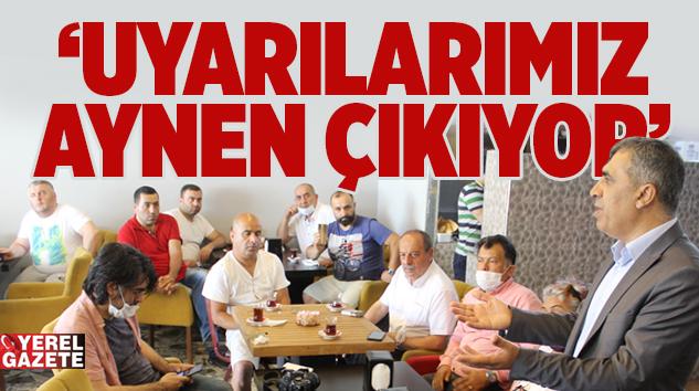 CAFER AKTÜRK'TEN ÜMRANİYE'DEKİ İMAR SORUNLARI HAKKINDA BASIN AÇIKLAMASI..