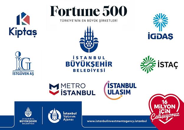 İBB ŞİRKETLERİ FORTUNE TÜRKİYE İLK 500'DE..
