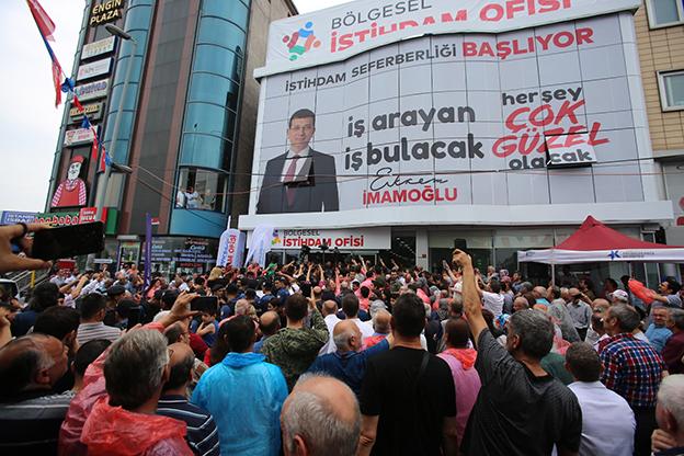 İBB İSTİHDAM OFİSLERİNİN 4.'SÜ SANCAKTEPE'DE AÇILIYOR..