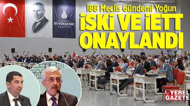İSKİ VE İETT 2019 YILI FAALİYET RAPORLARI ONAYLANDI..