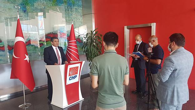 KAZIM BİLGEN, CHP PARTİ MECLİSİ ADAYLIĞINI AÇIKLADI..
