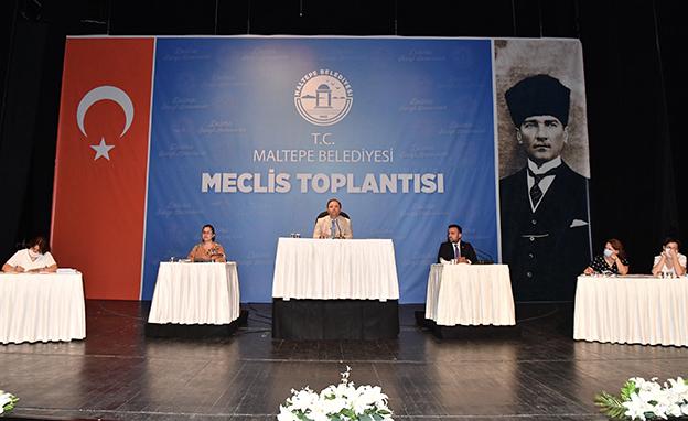 MALTEPE'DE YENİ NORMAL HAYATIN İLK MECLİSİ..