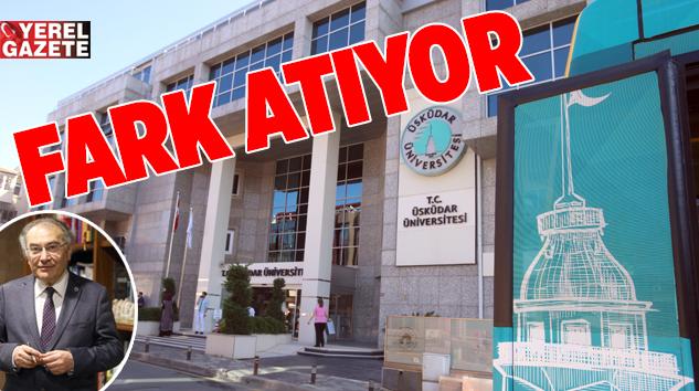 İLK 5'TE YER ALAN ÜSKÜDAR ÜNİVERSİTE'Sİ AR-GE'DE İDDİALI..
