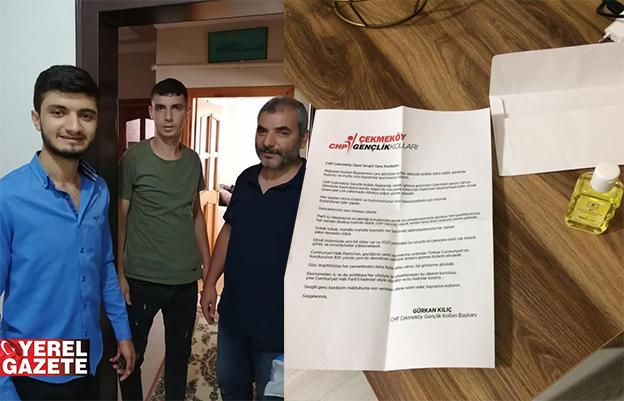 CHP GENÇLİĞİNDEN ALKIŞI HAKEDEN DAVRANIŞ..