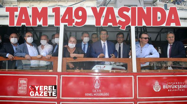 BİR BUÇUK ASIR İSTANBULLU'YU TAŞIYOR..