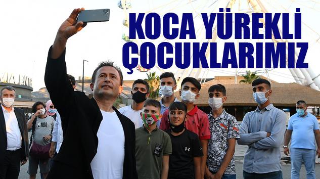 DİYARBAKIR'DAN TUZLA'YA UZANAN BİR SEVGİ KÖPRÜSÜ..