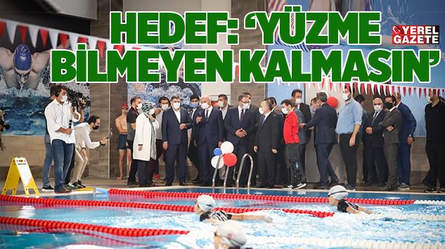 ÜMRANİYE'YE BİR YARI OLİMPİK YÜZME HAVUZU VE 6 ÇOK AMAÇLI SAHA DAHA..