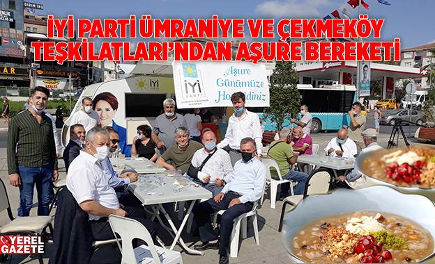 İYİ PARTİ KARAVANI AŞURE BEREKETİNİ PAYLAŞTI..