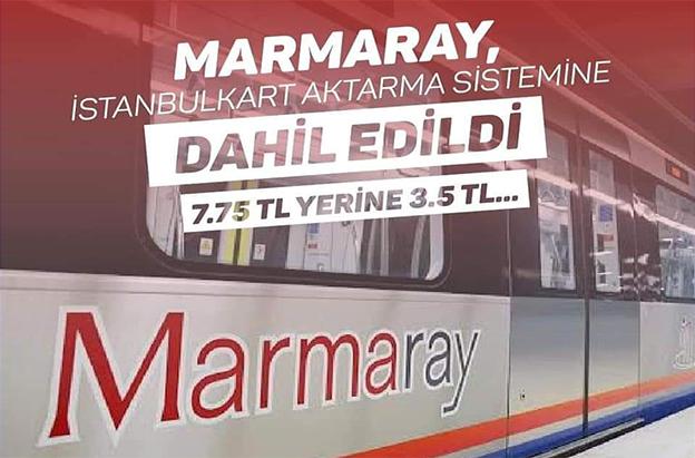 "BÖLGE İDARE MAHKEMESİ, İBB'NİN ""MARMARAY"" KARARINI HAKLI BULDU.."