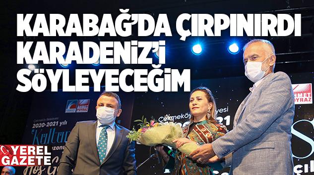 ÇEKMEKÖY YENİ KÜLTÜR SANAT SEZONUNU AZERİN'LE AÇTI..