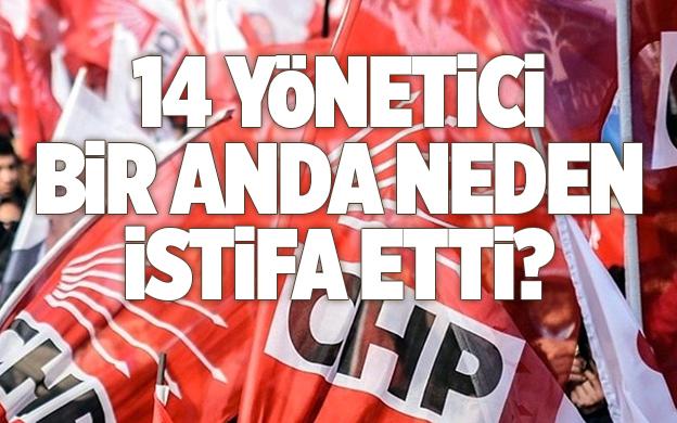 CHP ÜMRANİYE'DEKİ İSTİFALARA AÇIKLAMA..