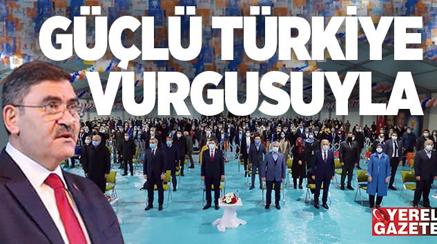 AK PARTİ ÜMRANİYE'DE EMİNMOLLAOĞLU İLE YOLA DEVAM..