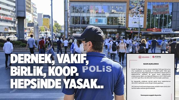 KONGRE VE ETKİNLİK YASAĞI 3 AY DAHA UZATILDI..