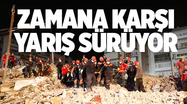 İSTANBUL EKİPLERİ İZMİR'DE BÜYÜK MÜCADELE VERİYOR..