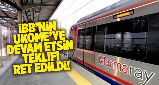 MARMARAY'DA AKTARMA MAHKEME KARARIYLA KALDIRILDI..