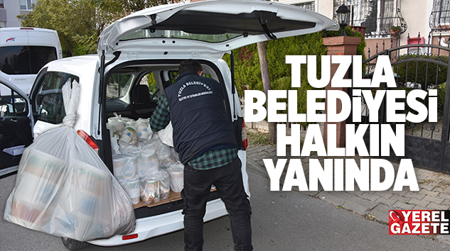 KARANTİNA EVLERİNE HERGÜN 3 ÇEŞİT YEMEK..