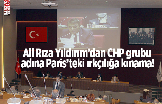 CHP ÜMRANİYE MECLİS GRUBUNDAN IRKÇILIĞA KINAMA..