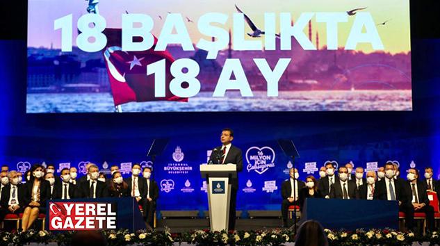 İMAMOĞLU, HALKA HESAP VERME GELENEĞİNİ SÜRDÜRÜYOR..