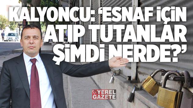 """""""ESNAF KEPENK BİLE KAPATAMIYOR ÇÜNKÜ ONUN BİLE BİR MALİYETİ VAR.."""""""