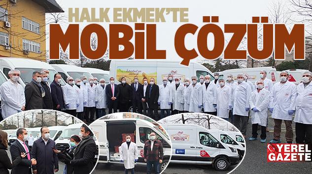HALK EKMEK'TE 'MOBİL ÇÖZÜM'LE ERİŞİM KOLAYLAŞTIRILDI..