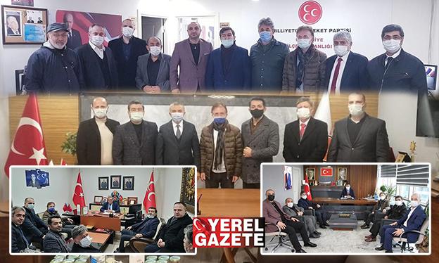 ASİAD'DAN AK PARTİ VE MHP ZİYARETLERİ..