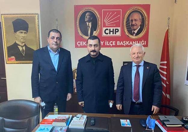 CHP PM ÜYESİ EREN ERDEM ÇEKMEKÖY'DE ESNAF VE MUHTAR ZİYARETLERİ YAPTI..