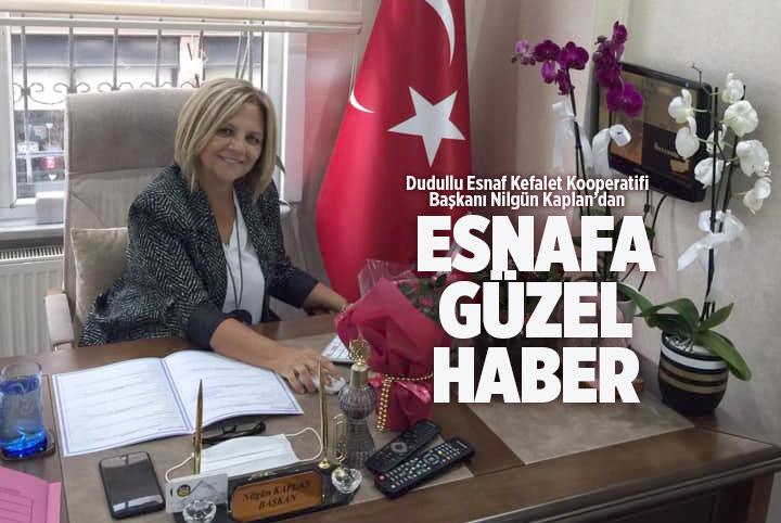 ESNAF KREDİ ÖDEMELERİ ERTELENDİ..