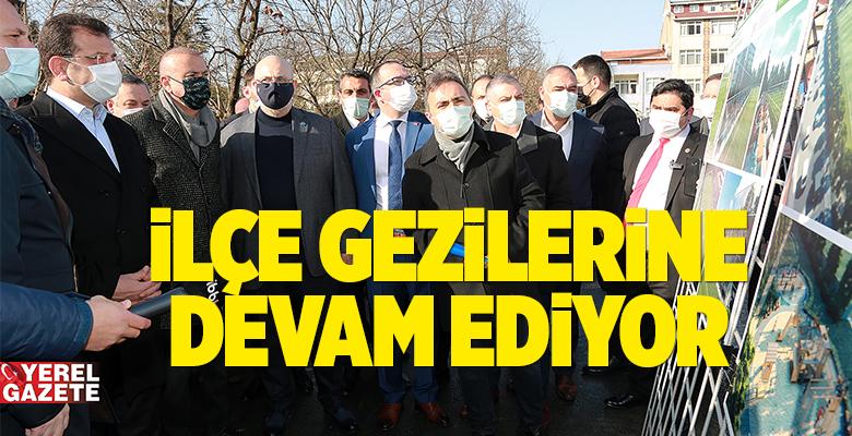 İMAMOĞLU'NUN YERİNDE İNCELEME DURAĞI ATAŞEHİR OLDU..