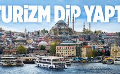 İSTANBUL'A GELEN TURİST SAYISI YÜZDE 47,7 AZALDI..