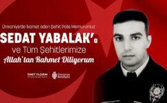 GARA ŞEHİDİMİZİN ÜMRANİYE'DEKİ EVİNE ATEŞ DÜŞTÜ..