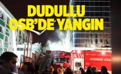 ÜMRANİYE'DE KORKUTAN YANGIN!..