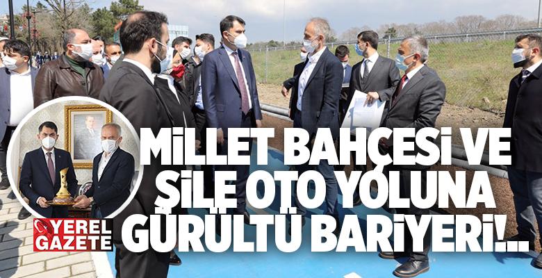 ÇEVRE VE ŞEHİRCİLİK BAKANI MURAT KURUM ÇEKMEKÖY'DE..