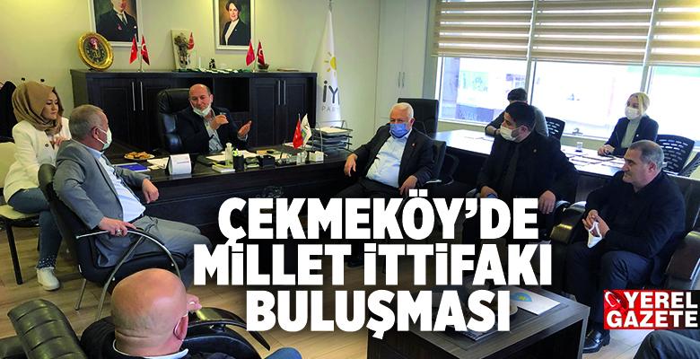 CHP VE İYİ PARTİ İLÇE BAŞKANLARINDAN DAHA SIKI İŞBİRLİĞİ MESAJLARI..