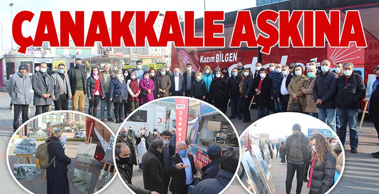 CHP'DEN ÇANAKKALE SERGİSİ VE ŞEHİTLERİMİZ İÇİN LOKMA..