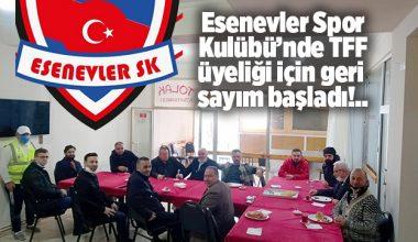 ESENEVLER SPOR KULÜBÜ EMİN VE KARARLI ADIMLARLA..