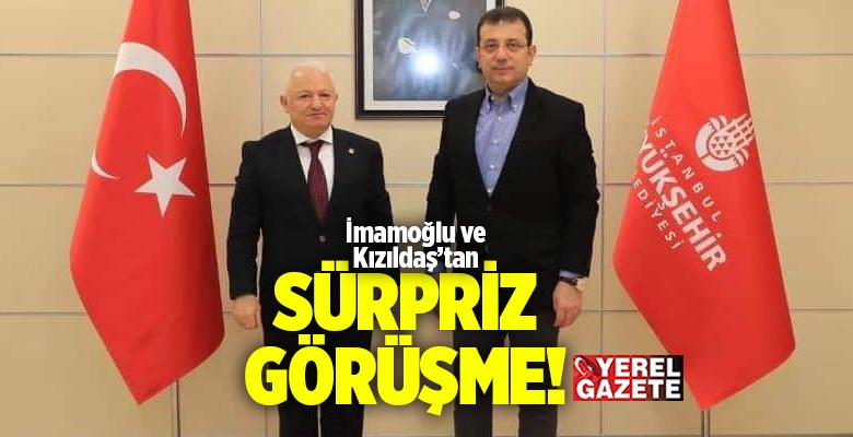 ÇEKMEKÖY'E HİZMET VE YATIRIMLAR KONUŞULDU..