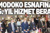 ÜMRANİYE'NİN EMEKTAR ESNAFINA HİZMET BERATI VERİLDİ..